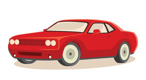 ilustracja samochodowy wektor Obrazy Royalty Free