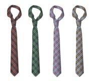 Ilustracja set krawaty Obraz Stock