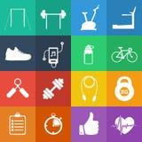 Ilustracja sport ikona w mieszkaniu projektującym Zdjęcia Stock