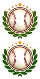 ilustracja szczytu baseballu Obrazy Royalty Free