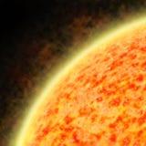ilustracja target1525_0_ słońce słonecznego wiatr fotografia royalty free