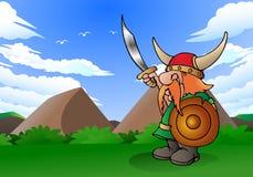 Viking mężczyzna Obraz Royalty Free