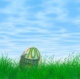 100 Euro Wielkanocny jajko ilustracja wektor