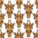 Ilustracja żyrafa Zdjęcia Royalty Free