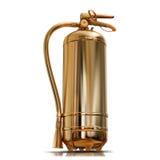Ilustracja złocisty pożarniczy gasidło ilustracji