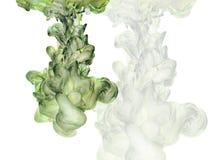 Ilustracja z abstrakt chmurą rysującą ręką z kolorem atrament Obrazy Royalty Free