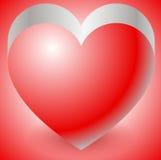 Ilustracja z kierowym kształtem Miłość, afekcja, walentynki ` s dzień royalty ilustracja