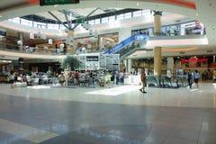 Ilustracja zakupy w centrum handlowym centrum handlowego Galleria Obrazy Royalty Free