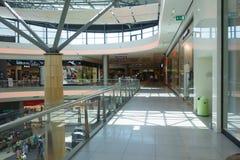 Ilustracja zakupy w centrum handlowym centrum handlowego Galleria Fotografia Stock