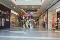 Ilustracja zakupy w centrum handlowym centrum handlowego Galleria Obraz Stock