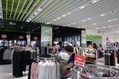 Ilustracja zakupy w centrum handlowym centrum handlowego Galleria Obrazy Stock
