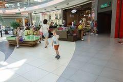 Ilustracja zakupy w centrum handlowym centrum handlowego Galleria Zdjęcie Royalty Free