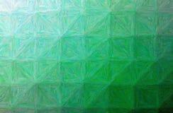 Ilustracja zielony kolorowy impastowy horyzontalny tło ilustracja wektor