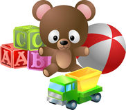 ilustracji zabawki. Zdjęcie Stock