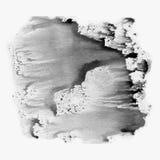 Ilustracyjna akwareli tekstura przejrzysty czarny, biel, szarość i szarość kolory, Akwareli abstrakcjonistyczny tło, punkty, plam Obraz Stock