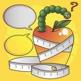 Ilustracyjna dieta Zdjęcie Stock
