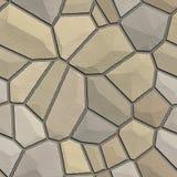 ilustracyjna kamienna ściana Zdjęcie Stock