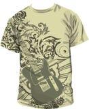 ilustracyjna koszula t Zdjęcia Stock