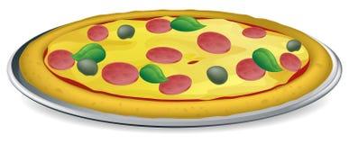 ilustracyjna pizza Zdjęcie Stock