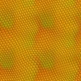 ilustracyjna skóra jaszczurki złota Zdjęcia Stock