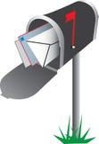 ilustracyjna skrzynka pocztowa ilustracja wektor