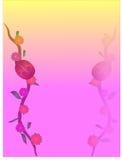 ilustracyjna wiosna Obrazy Royalty Free
