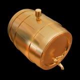 Ilustracyjna złota baryłka Fotografia Royalty Free
