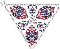 ilustracyjnej ottoman płytki tradycyjny turkish royalty ilustracja