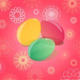 ilustracyjni Easter jajka Obraz Stock