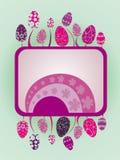 ilustracyjni Easter jajka Obraz Royalty Free