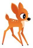 ilustracyjni jeleni young Obraz Royalty Free