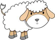 ilustracyjni owce Zdjęcie Royalty Free