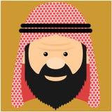 Ilustracyjny arabski książe royalty ilustracja
