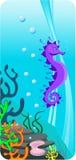 ilustracyjny dno morskie ilustracja wektor