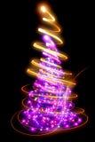 ilustracyjny drzewa wektoru xmas Fotografia Royalty Free