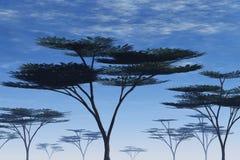 ilustracyjny drzewo Obraz Royalty Free