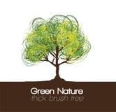 ilustracyjny drzewo Zdjęcie Stock