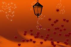 ilustracyjny dzień valentine s Zdjęcia Royalty Free