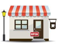 ilustracyjny ikona sklep Zdjęcia Royalty Free