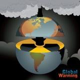 ilustracyjny jądrowy świat royalty ilustracja