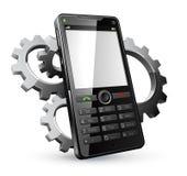 ilustracyjny komórka telefon Zdjęcie Stock