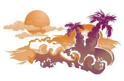 ilustracyjny lato ilustracji