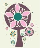 ilustracyjny magiczny drzewo Fotografia Royalty Free