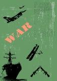 ilustracyjny militarny plakat Fotografia Royalty Free