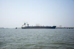ilustracyjny oceanu statku wektor Zdjęcia Stock