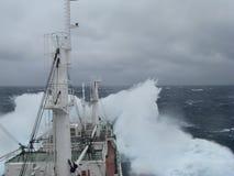 ilustracyjny oceanu statku wektor Obraz Stock