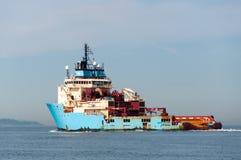 ilustracyjny oceanu statku wektor Fotografia Stock