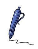 ilustracyjny pióro Obrazy Stock