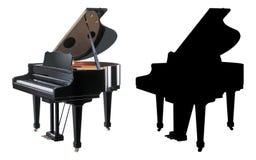 ilustracyjny pianino obrazy royalty free
