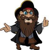 ilustracyjny pirat Obrazy Royalty Free